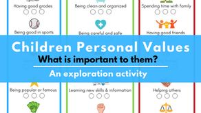 [Free Printable] Discover Your Child's Personal Values