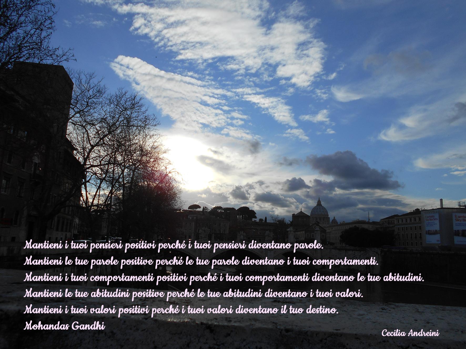Amato Mantieni i tuoi pensieri positivi perché . | ceciliaandreini  IH15