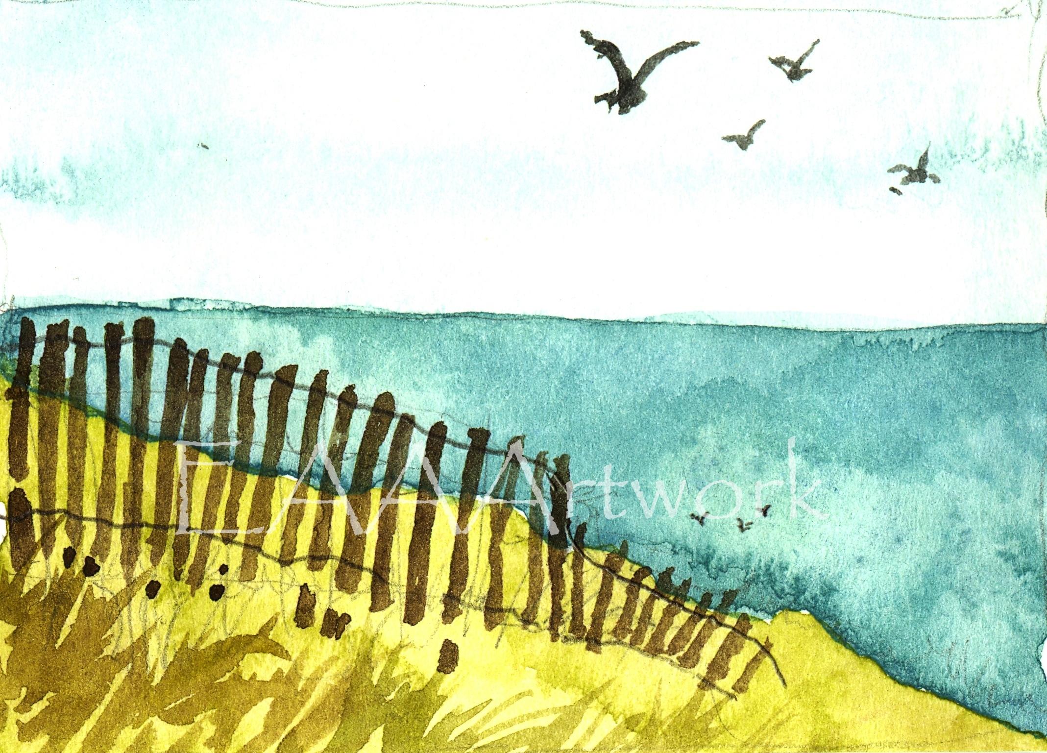 Fence on Dune