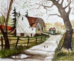 Historic Barn near Punxsutawney, PA
