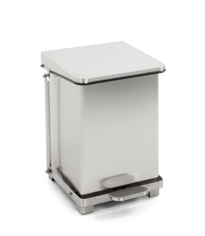 HACCP afvalbak RVS 27L