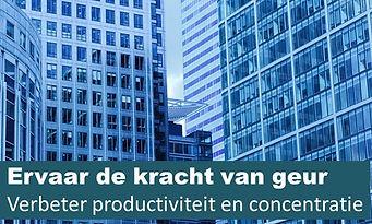 Geurmarketing kantoor, verbeter concentratie en productiviteit met geurmarketing