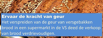 Geurmarketing food retail, geurmarketing supermarkt, productpromotie met geurmarketing