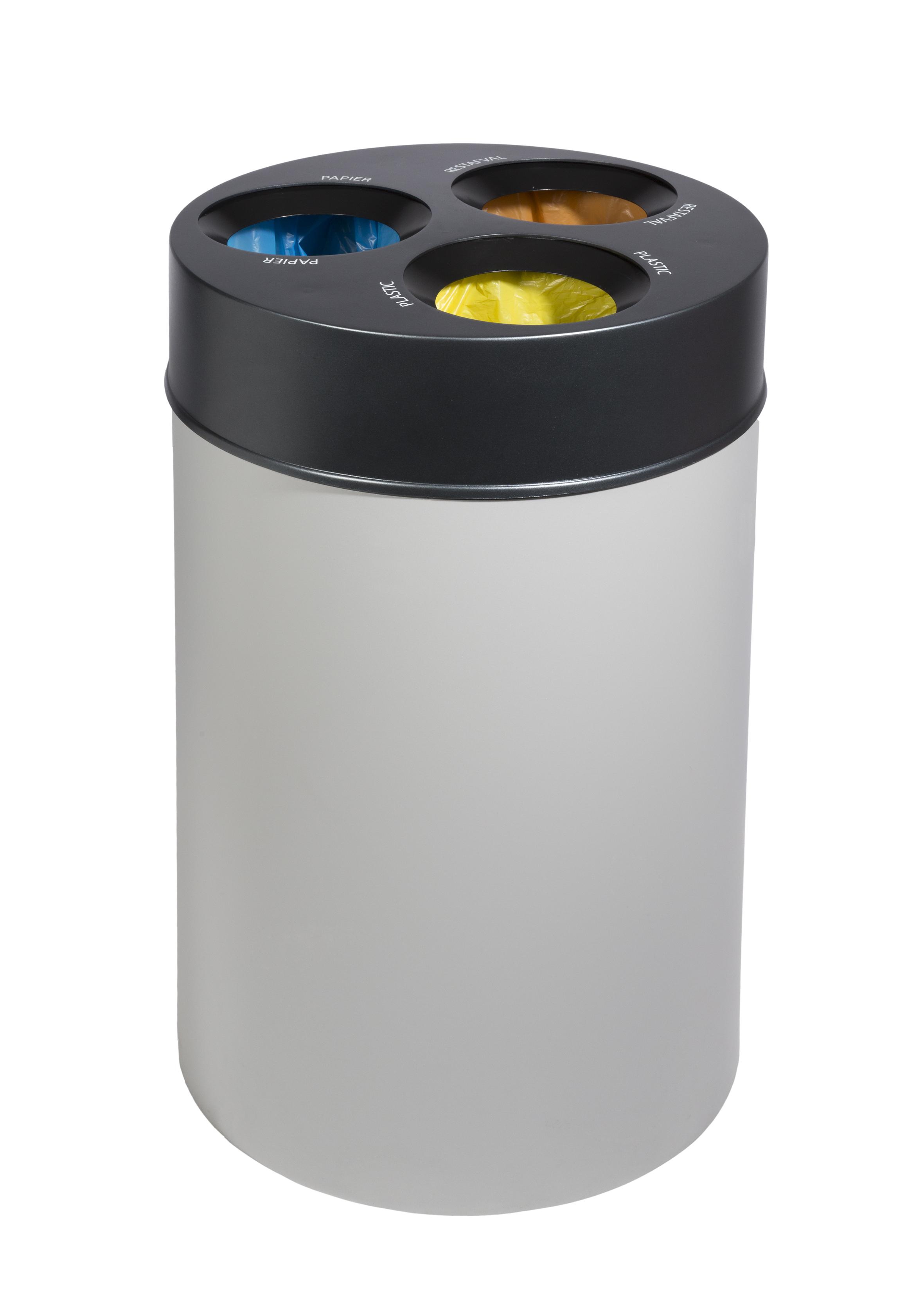 Pepper afvalbak met afvalscheiding