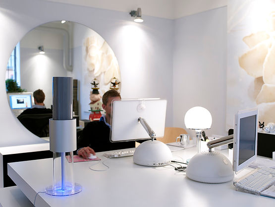 Lightair Ionflow ionisatie luchtreiniger op de werkplek