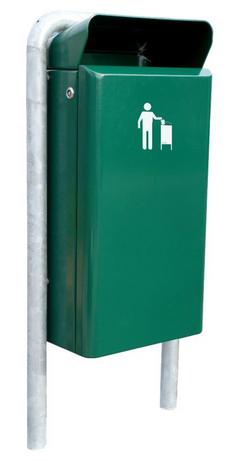 Miro Tipo buiten afvalbak groen