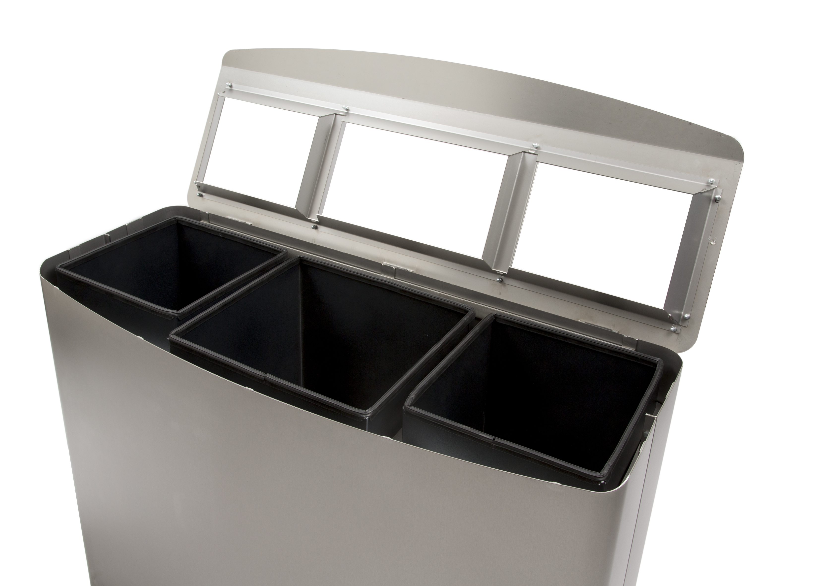 Afvalbak met afvalscheiding Lido