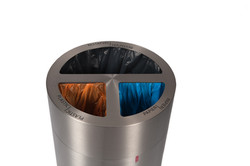 Afvalbak met afvalscheiding Myron
