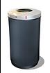 Buiten afvalbak Leon Lune, afvalsysteem, vuilnisbak, prullenbak