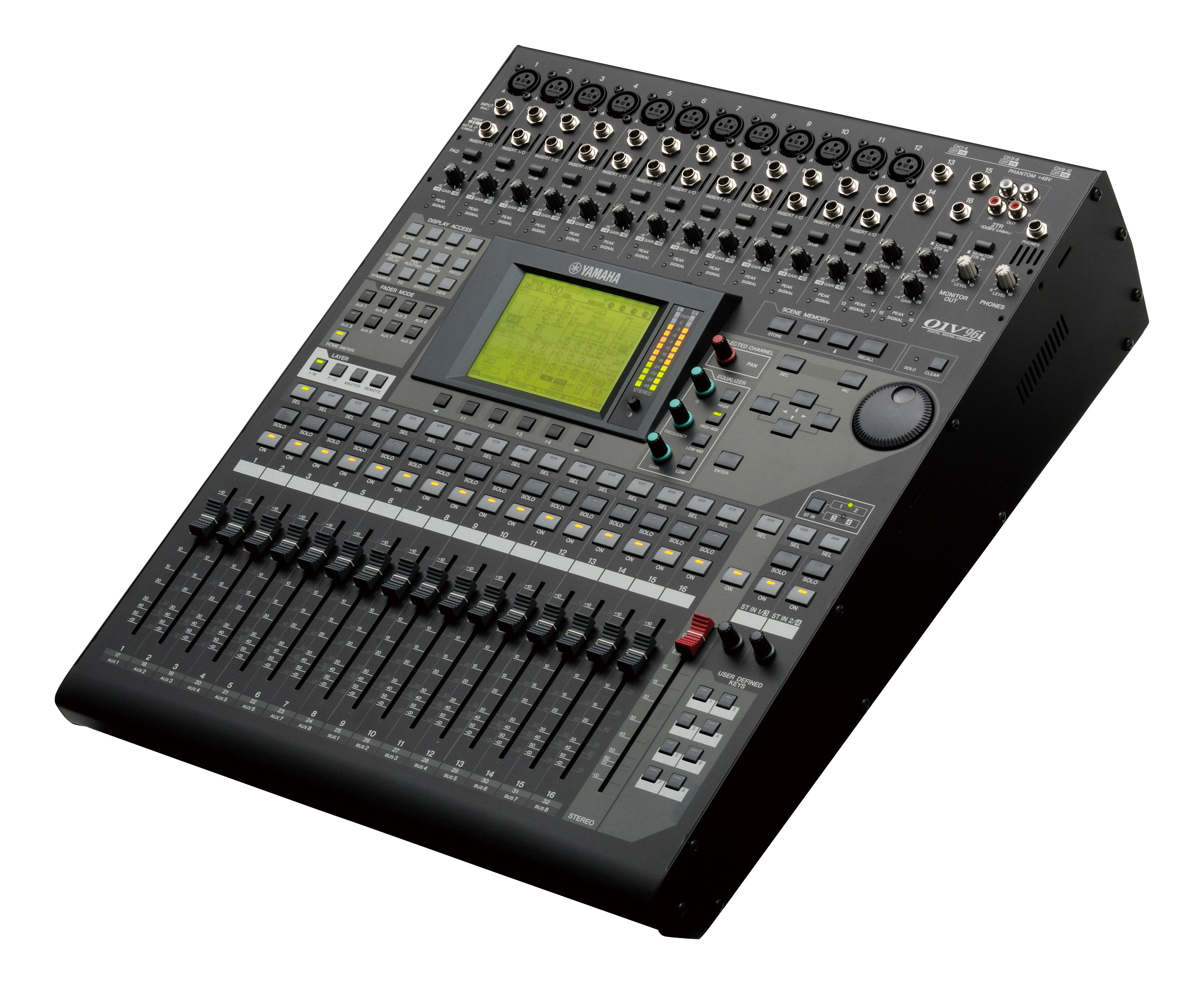 Custom Mixer files for Yamaha 01v96