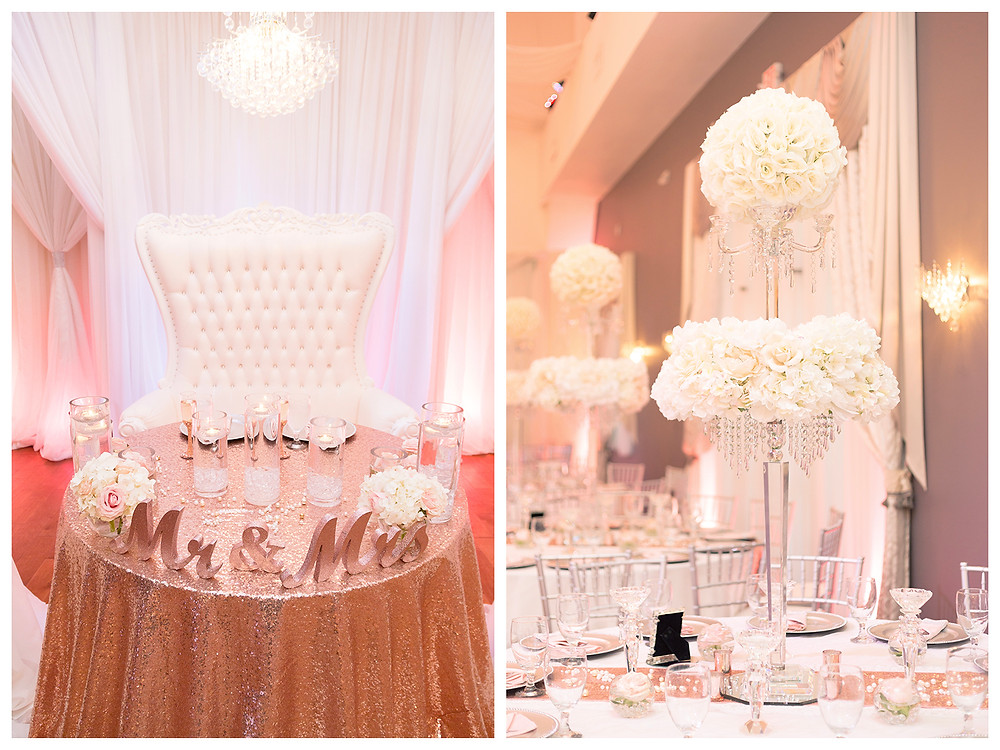 Sweetheart table examples