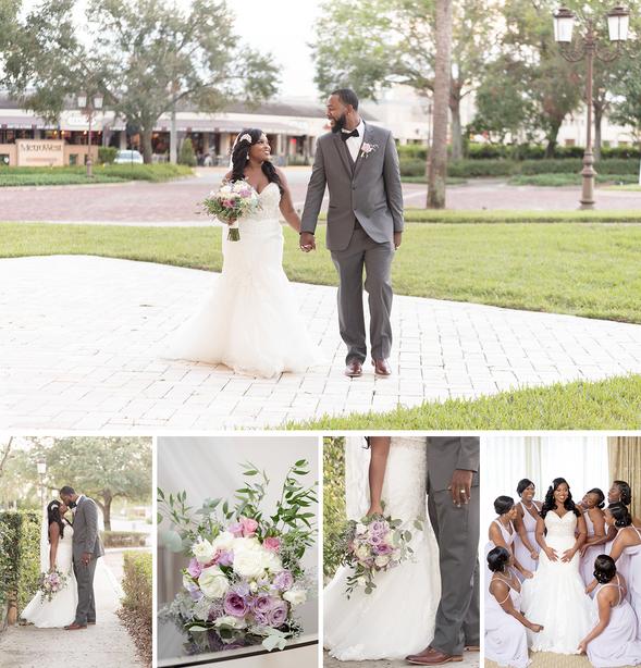 Crystal Ballroom at Veranda Wedding: Ebony & Ranell