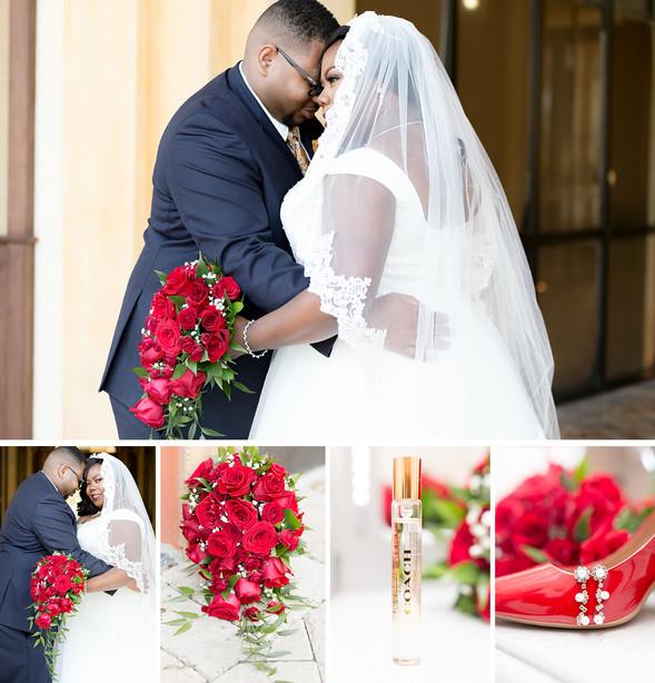 Veranda Park Crystal Ballroom Wedding: Nicole + Andre