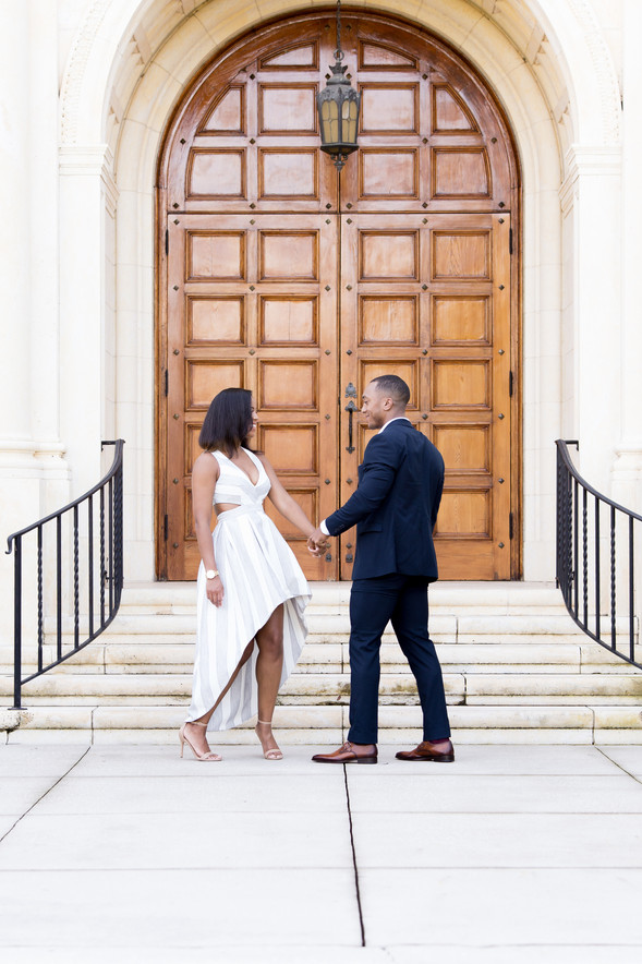 Rollins College Engagement: Jacqueline & Paul
