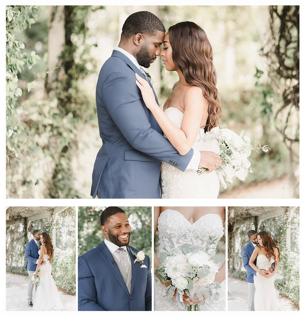 Rhema and Eze were married in Lake Mary, Florida at Lake Mary Events Center.