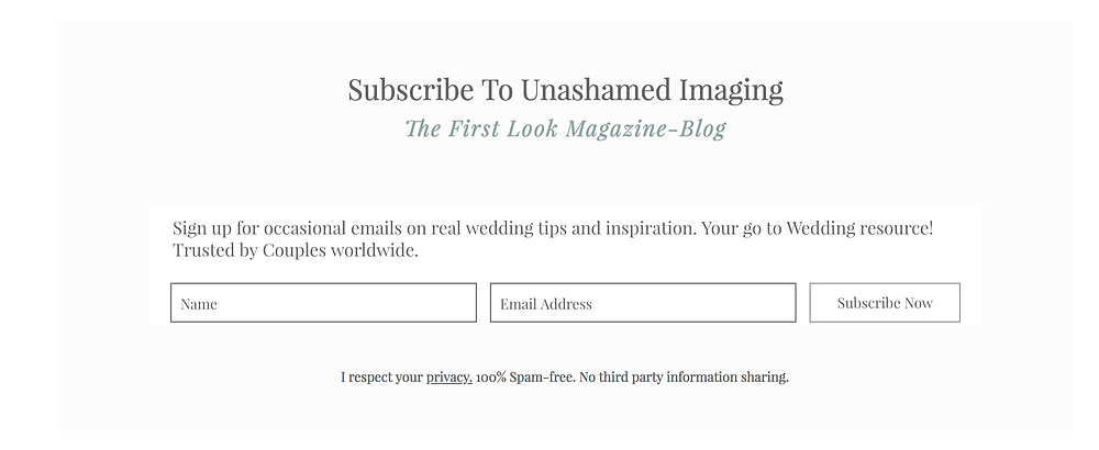 Go Unplugged for Your Wedding - Here's Why