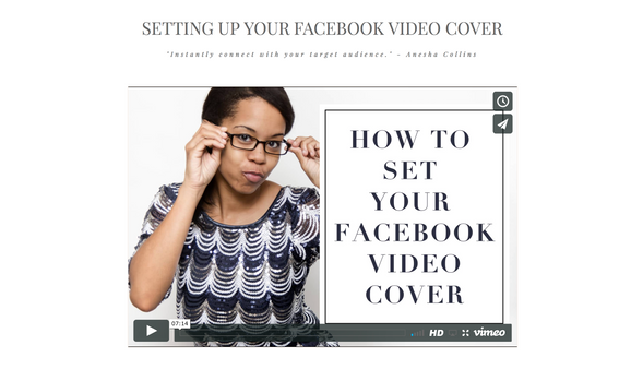 HOW TO ADD A VIDEO AS YOUR FACEBOOK COVER