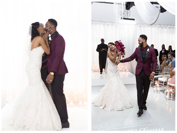 Heaven Events Center Wedding : Tiffany & David