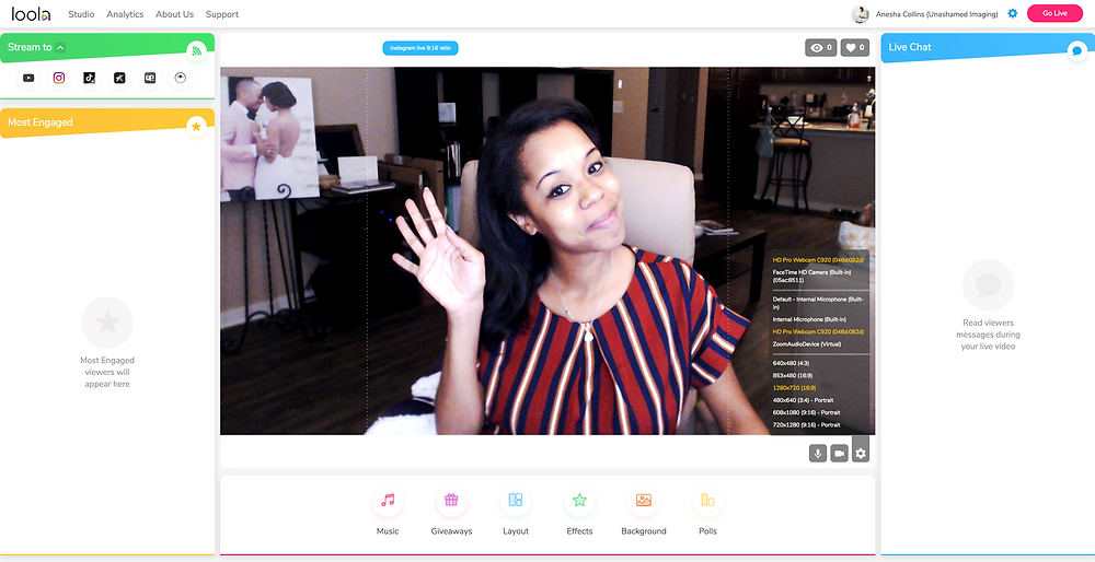 INSTAGRAM LIVE: HOW TO BROADCAST FROM YOUR DESKTOP WITH LOOLA.TV