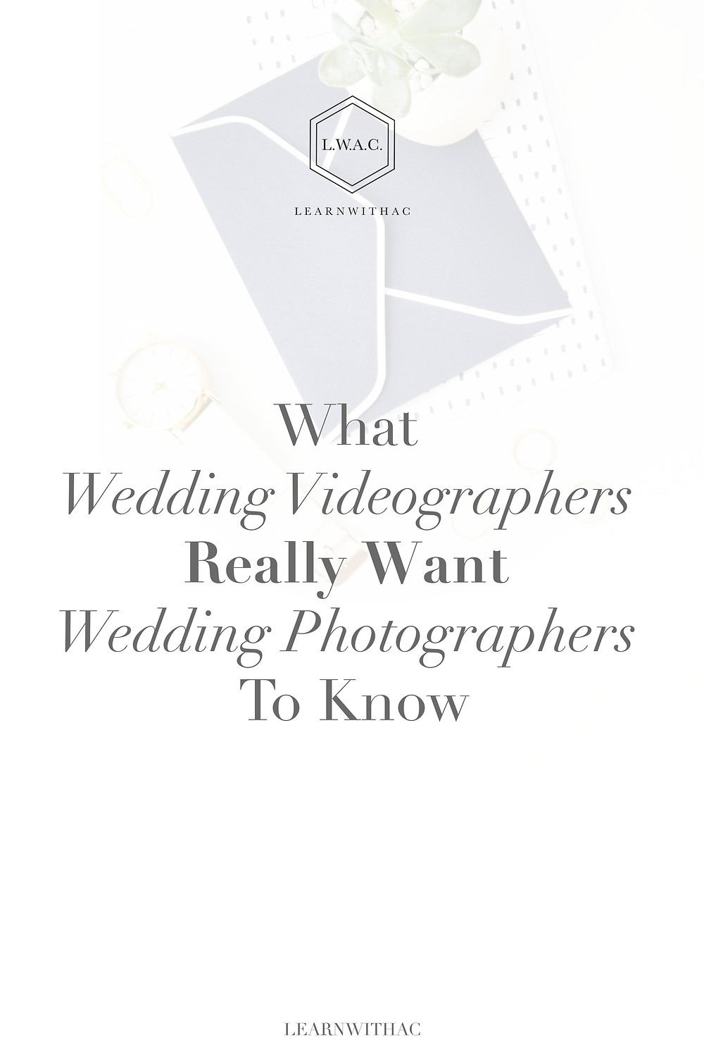 What Wedding Videographers Really Want Wedding Photographers To Know