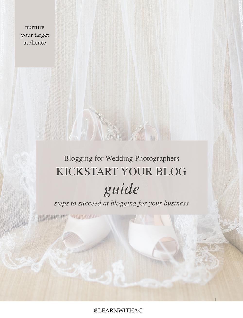Kickstart your blog.