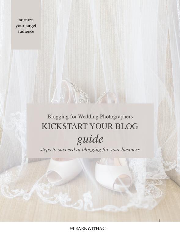 Blog Easier in 2019: For Wedding Photographers