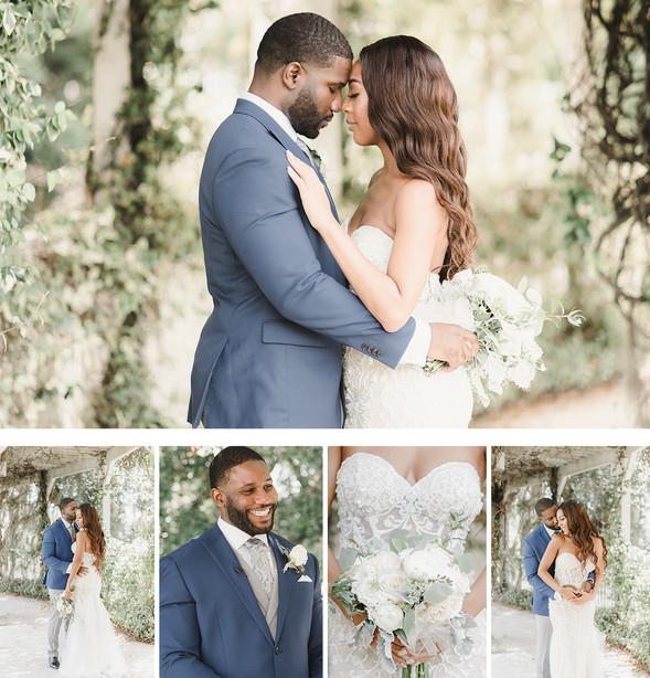 Navy Blue & Blush Wedding |  Lake Mary Events Center
