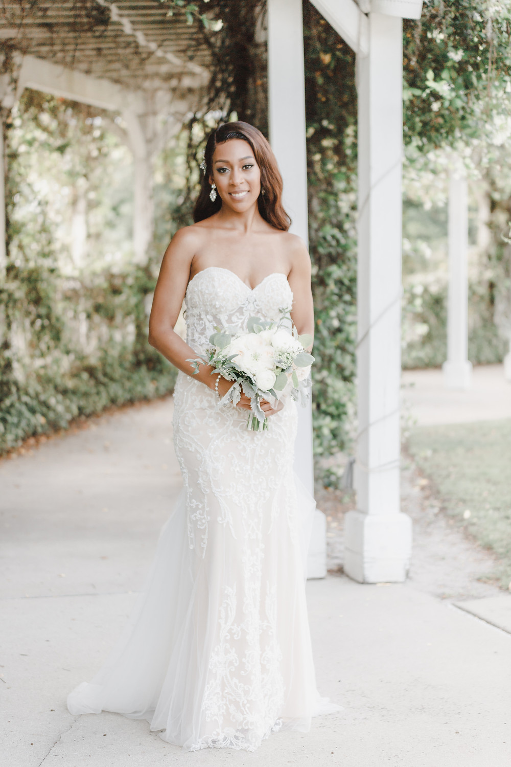Navy Blue & Blush Wedding |  Lake Mary Events Center | Unashamed Imaging