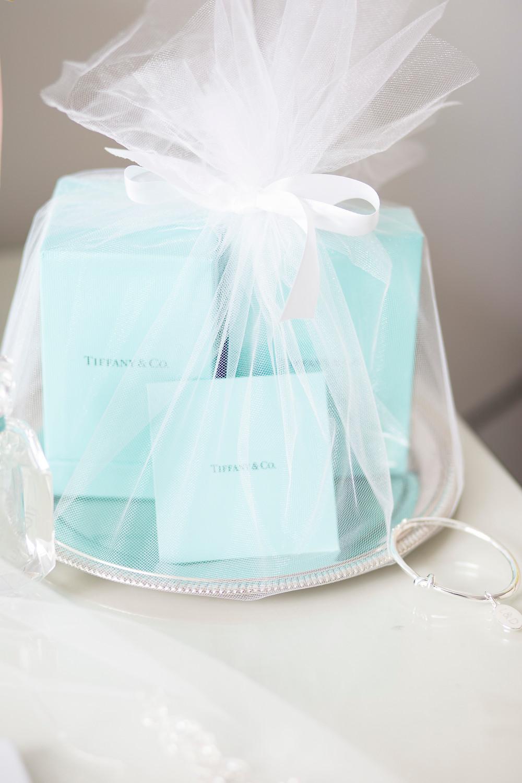Tiffany perfume set wrapped.