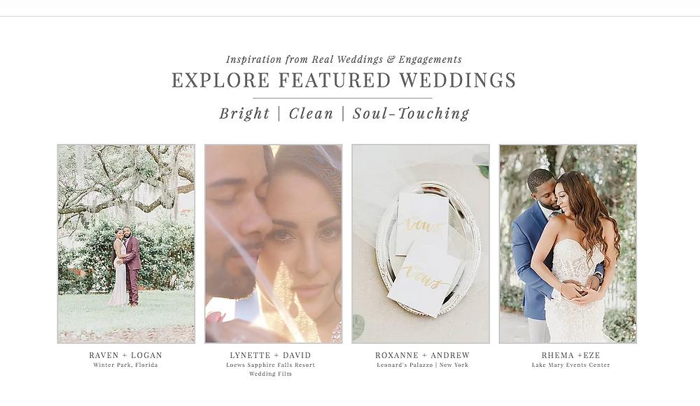 orlando wedding photographer unashamed imaging at wedding expo.