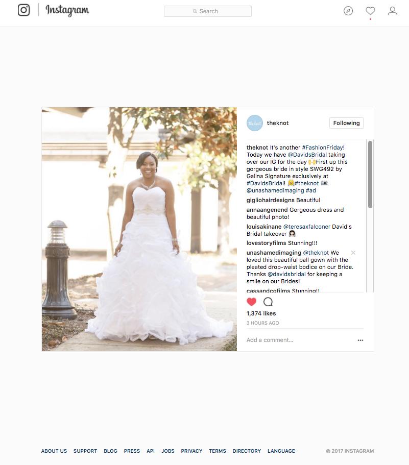The Knot: Galina Signature Wedding Gown