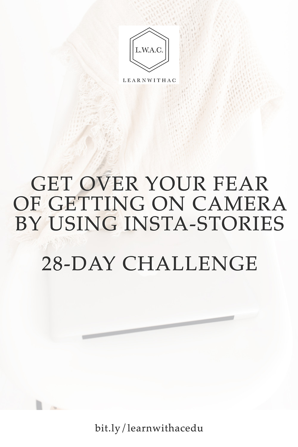 Kickstart your blog.Get Over Your Fear of Getting On Camera With This Challenge