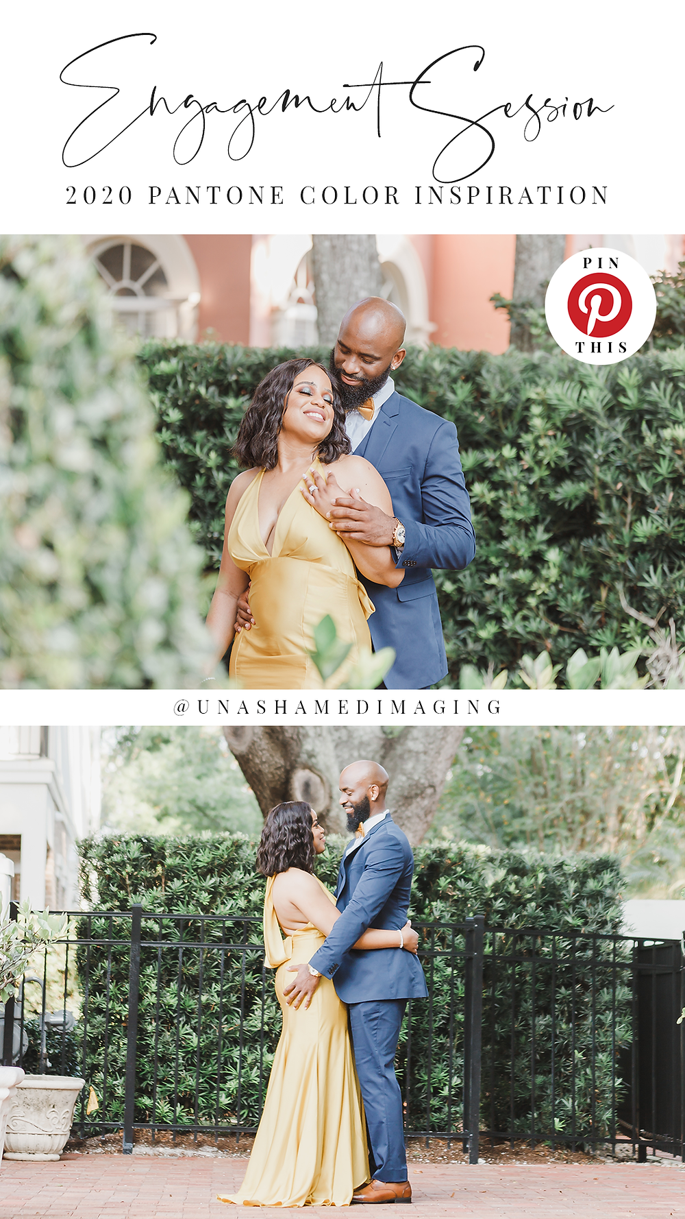 2020 Pantone Color Engagement Session Inspiration. Photography by Unashamed Imaging