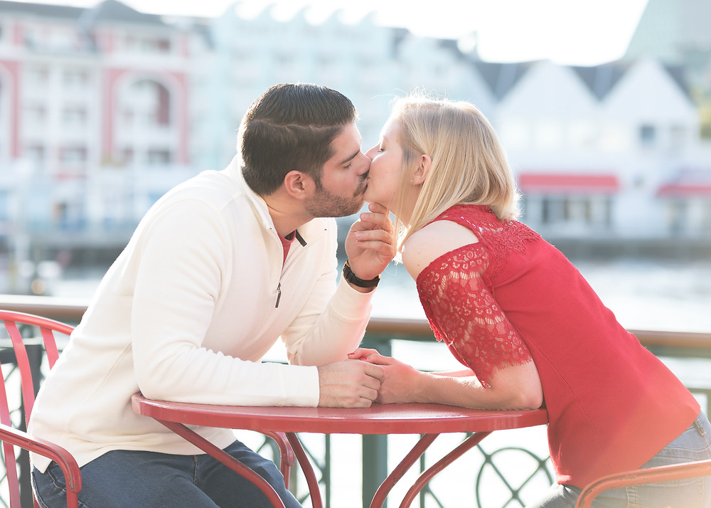 Disney Boardwalk Engagement Session: Megan & Ryan.