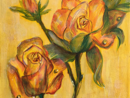 Sheila's Tea Cup Roses