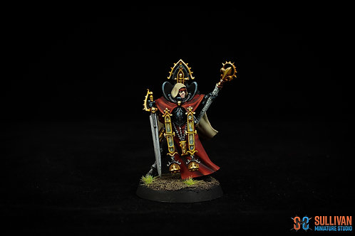 Painted Miniature : Sister of Battle Canoness
