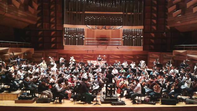 Orquesta Sinfónicoa Simón Bolívar con Gustavo Dudamel
