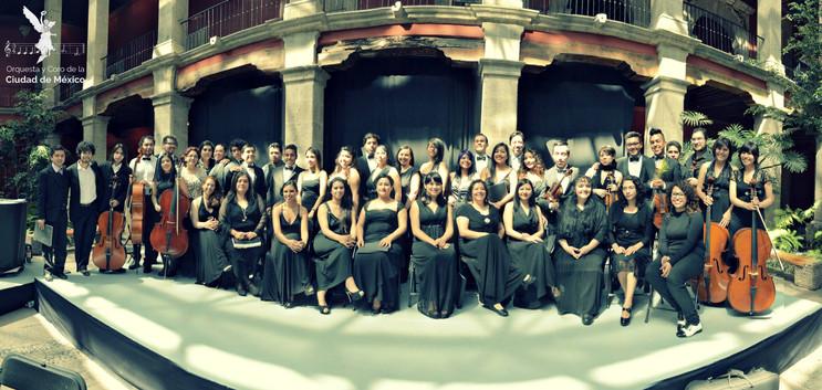 Orquesta y Coro de la Ciudad de México. 2016