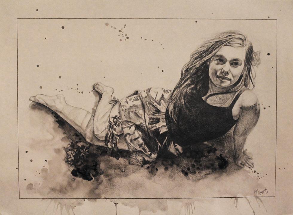 Self Portrait Splatter