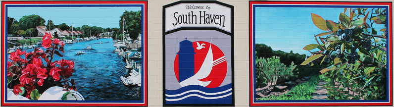 Welcome to South Haven Mural