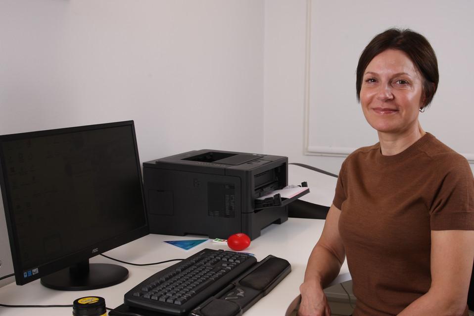 Sekretær Jannie Fagerlund