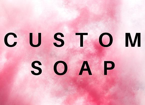 Custom Artisan Bar Soap Loaf