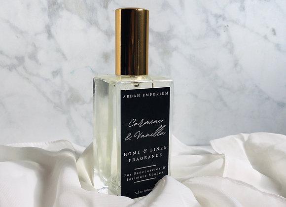 Carmine & Vanilla - Home and Linen Fragrance