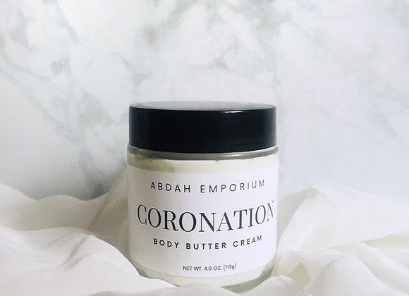 Coronation - Body Butter Cream