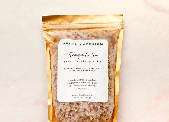 Tranquili-Tea - Soaking Salts