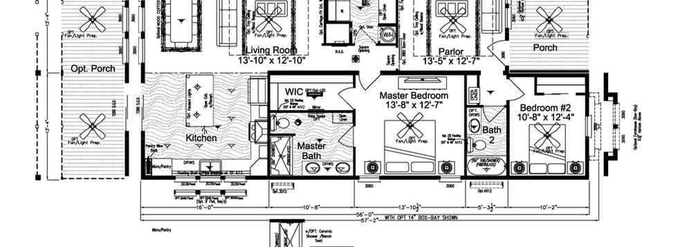 Carriage Farmhouse  Marketing Floorplan.