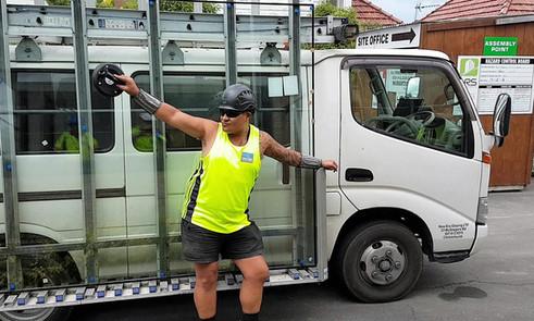 Glass Truck and Maaka