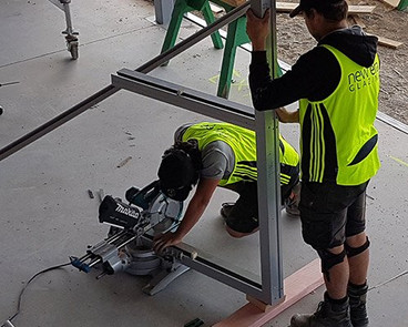 Cutting a Frame