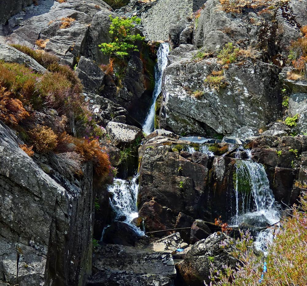 Falls at Cwmorthin
