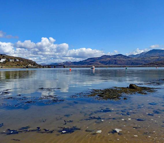 Barmouth and Mawddach estuary